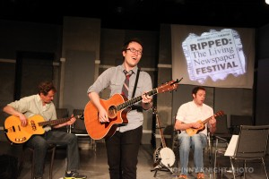 2014 Ripped: the Living Newspaper Festival