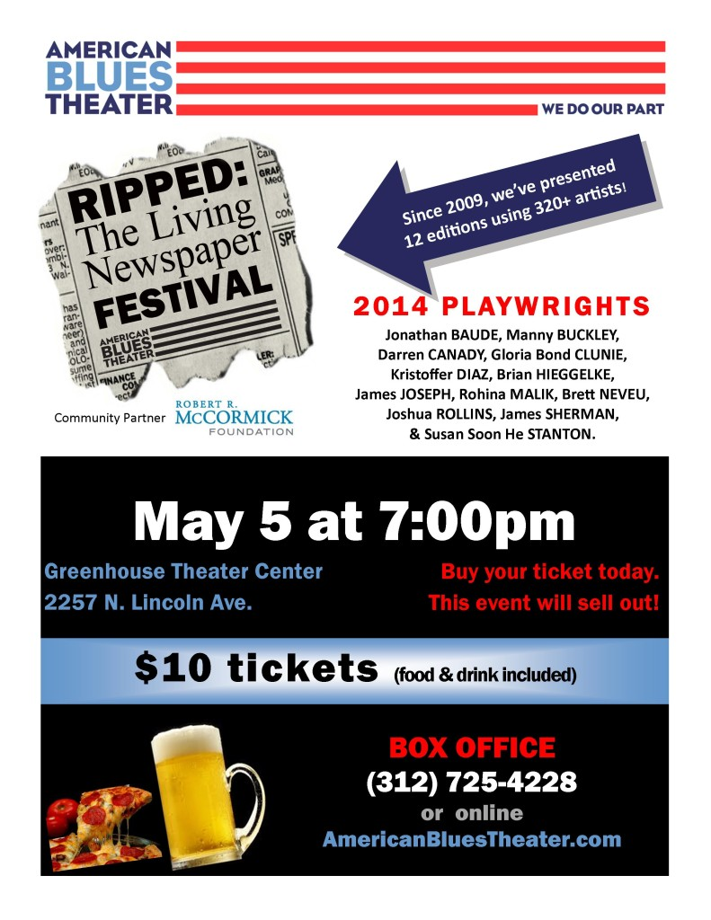2014 Ripped Living Newspaper Festival