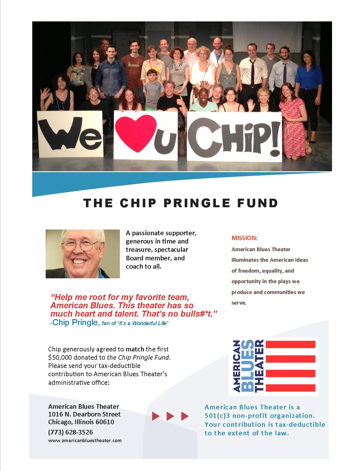 The Chip Pringle Fund