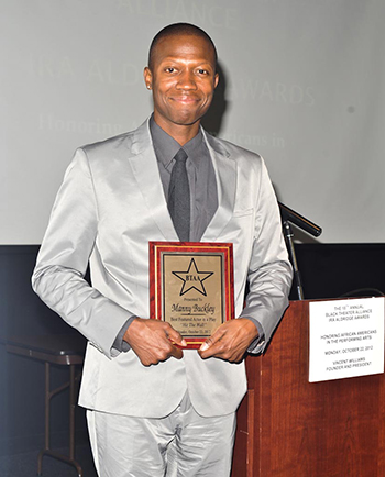 Black Theater Alliance Awards - Manny Buckley
