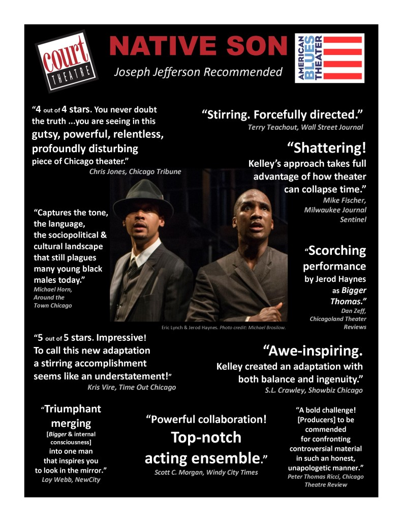Native Son Reviews Chicago Theater
