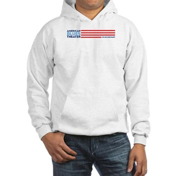 American Blues Theater White Hoodie