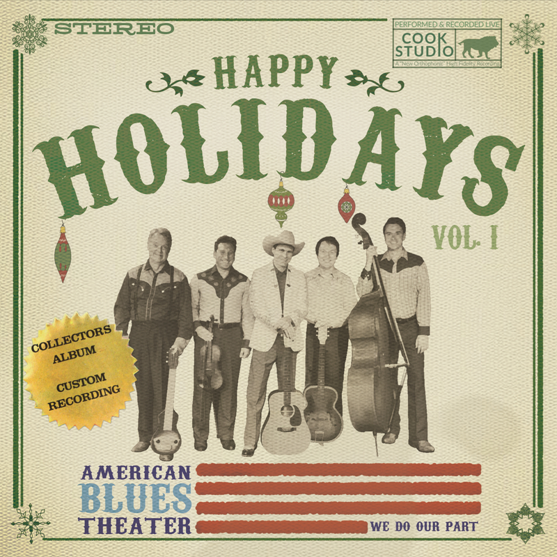 American Blues Happy Holidays CD