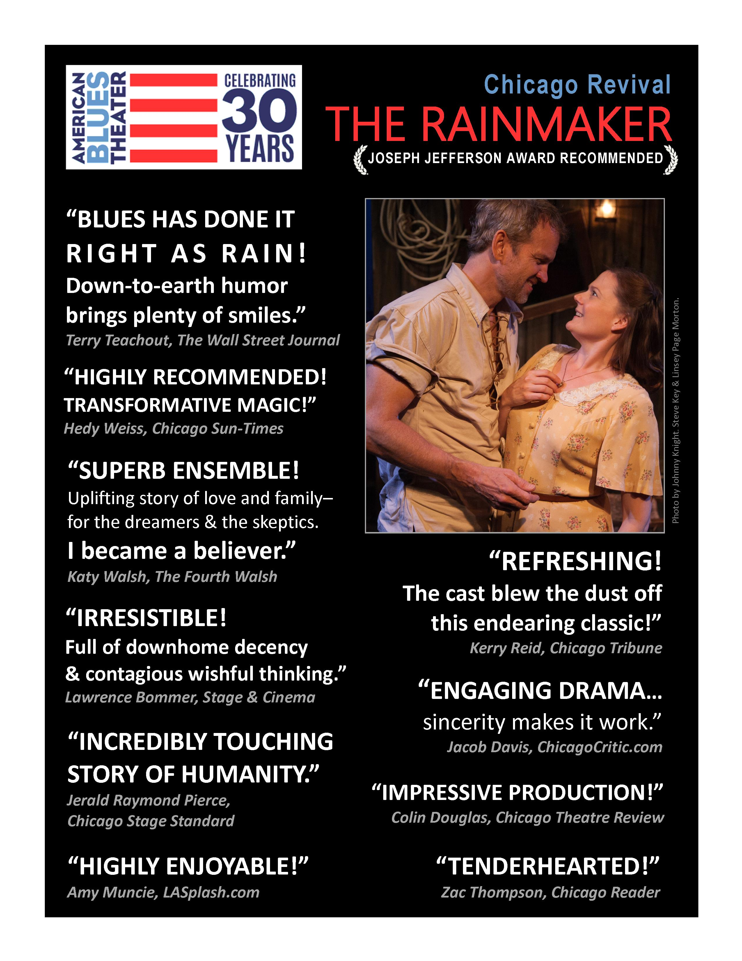 The Rainmaker Chicago Reviews