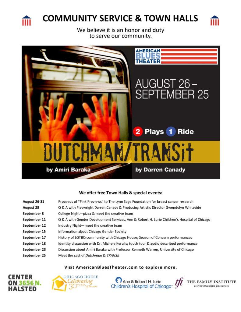 Dutchman & TRANSit Town Halls 9.7.16